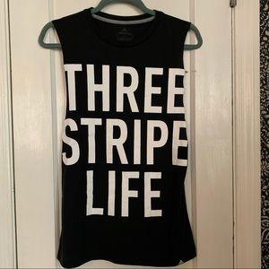 Adidas • Three Stripe Life Tank